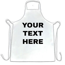 Your Text Here Custom Personalised Printed Apron