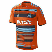 ADIDAS OLYMPIQUE MARSEILLE JERSEY 3RD Orange FOOTBALL S - XXL