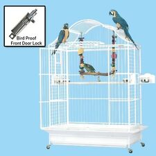 Kings Cages 406 Napoleon Top Parrot Bird cage cages toy toys african grey amazon