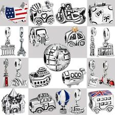 2016 Genuine 925 Sterling Silver Fine European Charms For Fashion Bead Bracelet
