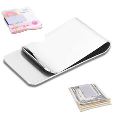Man's Hot High Quality Money Clip Credit Card Holder Wallets New Stainless Steel