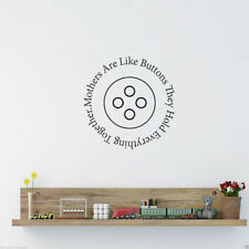 Mothers Are Like Wall Art Sticker Lounge Room Quote Decal Mural Stencil Transfer