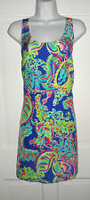 NWT LILLY PULITZER MULTI TOUCAN PLAY SILK POPPY DRESS M L XL