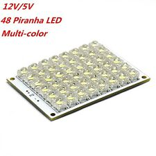 5V 12V LED Panel Board 24 48 Piranha LED  Panel Red Yellow Green Warm White