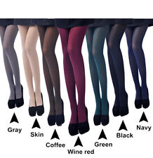 80D Opaque Footed Tights Sexy Women's Pantyhose Stockings Socks Multi-Colors Lot