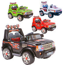 NEW KIDS RIDE ON JEEP ELECTRIC CHILDRENS 12V BATTERY REMOTE CONTROL TOY CARS UK