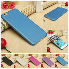Pure Color Translucent Matte Thin Hard Back Case Cover Skin For iPhone 6 6S 4.7""