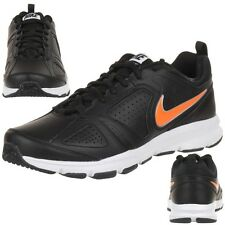 Nike T-Lite XI Leather Sneakers Trainers Shoes 616544 023 black
