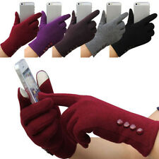 Winter Charm Women Outdoor Warm Gloves Touch Screen Ski Sport Gloves Mittens