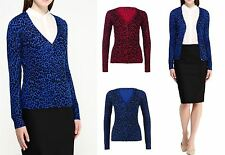 NEW LADIES WOMENS OPEN CARDIGAN BRAVE SOUL  LEOPARD ANIMAL KNITTED TOP JUMPER