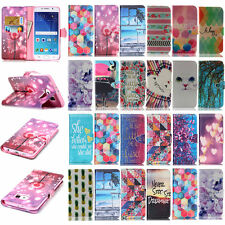 Pattern -YX Leather Wallet Stand Case Cover For Samsung Galaxy J1 G355H S5 S4 S3