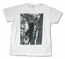 "JUSTIN BIEBER ""IN A TREE"" WHITE SLIM FIT T-SHIRT NEW OFFICIAL ADULT BAND MUSIC"