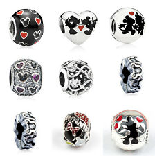 hot 925 Sterling Silver European Charms fit European Charms Beads bracelet 3