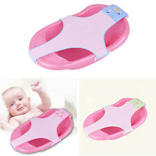 CA1 Baby Bathing Net Adjustable Safety Bath Shower Seat Support Cradle Bed WB2