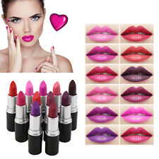 Cosmetic Makeup Long Lasting Bright Lipstick Lip Stick Nude Colors Beauty UF