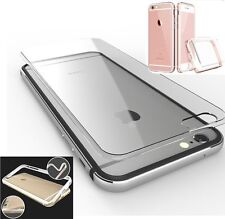 Luxury Clear Aluminum Metal Bumper Case Cover Shell for iPhone 6 6s Plus 4.7 5.5