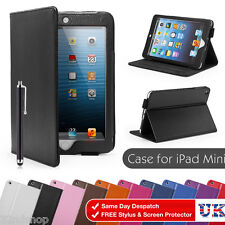 Smart Stand PU Leather Case Cover & Screen Protector Stylus For Apple iPad 2/3/4