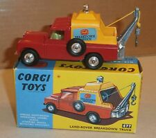 Corgi 477 Land-Rover Breakdown Truck-1960s-MIB-Early Box