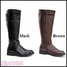 Riding Boots Mens Military Boots Leather Knee High Equestrian Ridding Boots 0024