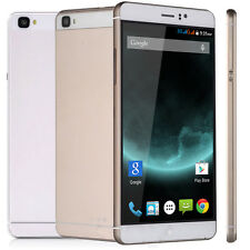 "6.0"" Unlocked Quad Core QHD Smartphone Android 5.1 IPS/GPS 3G Cell Phone 2Sim"