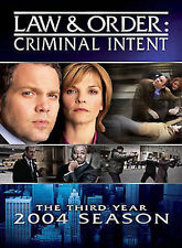 LAW & ORDER: CRIMINAL INTENT - THE THIRD YEAR [USED DVD]