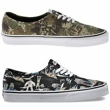 Vans Classic Authentic Star Wars Unisex Mens Womens Ladies Trainers