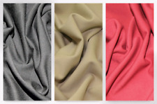 Polyester with Lycra Twill Suiting Dress Fabric (18.B-1002-M)