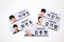 SHINEE Photo Name Tag Badge KPOP MinHo TaeMin Onew JongHyun Key