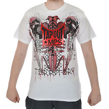 TAPOUT Territory Mens MMA UFC Training Cage Fighter Short Sleeve T Shirt Top