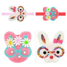 Fashion Baby Kids Girls Rabbit Ears Bow Knot Headband Elastic Hair Band Easter