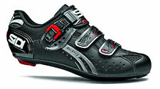 SIDI GENIUS 5-FIT CARBON MEGA ROAD BIKE SHOES BLACK