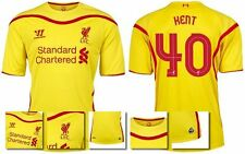 *14 / 15 - LIVERPOOL AWAY EURO & DOMESTIC SHIRT SS / KENT 40 = SIZE*