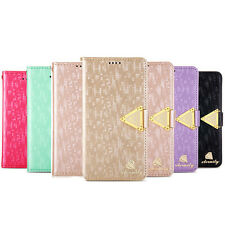 Luxury Leather Stand Function Flip Wallet Cover Case For Samsung Galaxy S5 i9600