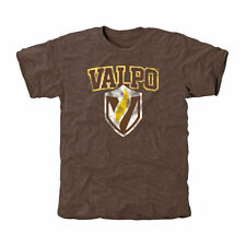 Valparaiso Crusaders Classic Primary Tri-Blend T-Shirt - Brown - College