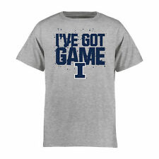 Illinois Fighting Illini Youth Got Game T-Shirt - Ash - College