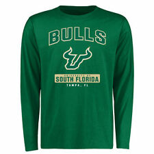 South Florida Bulls Campus Icon Long Sleeve T-Shirt - Green - College