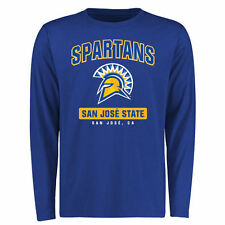 San Jose State Spartans Campus Icon Long Sleeve T-Shirt - Royal - College