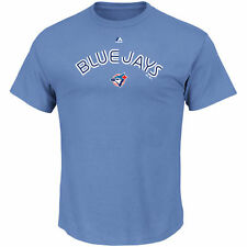 Toronto Blue Jays Majestic Cooperstown Series Sweep T-Shirt - Light Blue - MLB