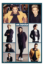 One Direction Official 2016 Portraits Poster New - Maxi Size 91 x 61.5cm