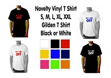 Fork Off Mens Novelty T Shirt Novelty - Funny T Shirt S M L XL XXL FREEPOST