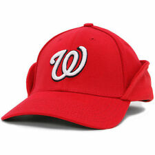Washington Nationals New Era Downflap 39THIRTY Flex Hat - Red - MLB