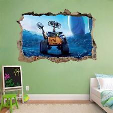 WALL-E Smashed Wall Decal Removable Wall Sticker Disney Walle Home Art H223