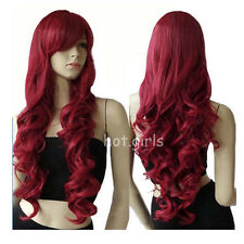 Long Curly Full Wig Vogue Natural Daily Party Hair Wigs Real Quality Wig US G33