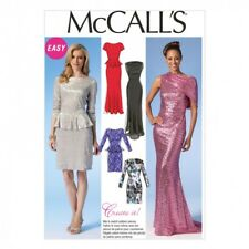 McCalls Ladies Sewing Pattern 7047 Formal Evening Gown Dresses (McCalls-7047-M)