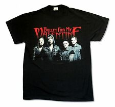 BULLET FOR MY VALENTINE GROUP SHOT TOUR 2013 BLACK T SHIRT NEW OFFICIAL