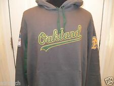 Brand New Embroidered Oakland Athletics Long Sleeve Hooded/Hoodie Sweatshirt Med