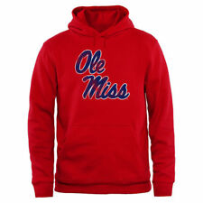 Ole Miss Rebels Big & Tall Classic Primary Pullover Hoodie - Red - College