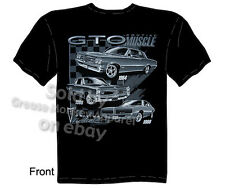 Pontiac Shirts GTO Shirts Muscle Car Apparel Automotive T Shirts 1964 1966 1969