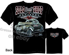 Hot Rod Clothes 40 Willys Gasser Automotive Shirts 1940 Solo Speed Shop T Shirt