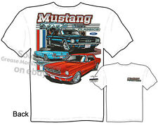 Mustang Apparel Ford T Shirt 1965 1966 Automotive Shirts Classic Car Clothing